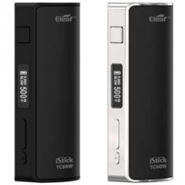 ELEAF KIT I-STICK TC60 BATTERY KIT SILVER