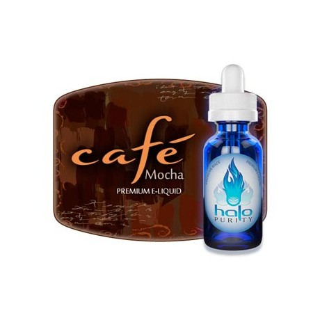 E-líquido HALO Café Mocha 30ml 00MG