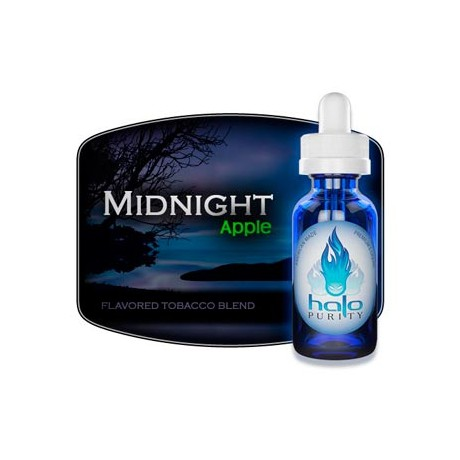 E-líquido HALO Midnight Apple 30ml 18MG