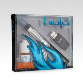 HALO STARTER KIT TRITON + E-LÍQUIDO TRIBECA 18mg 7ML