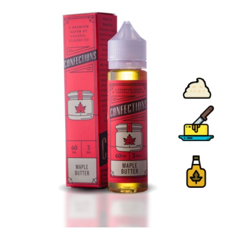 Coastal Clouds Maple Butter (BOOSTER)