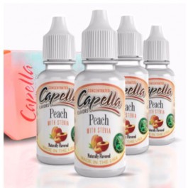 Capella Flavors Peach Stevia 13ML