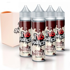 I VG SWEETS COLA BOTTLES 00MG 50ML (BOOSTER)
