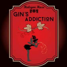 HALCYON HAZE GIN'S ADDICTION 18MG 10ML.