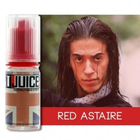 Tjuice Eliquid Red Astair 10ml 00mg