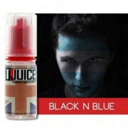 Tjuice Eliquid Black 'n' blue 10ml 00mg
