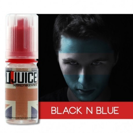 Tjuice Eliquid Black 'n' blue 10ml 16mg
