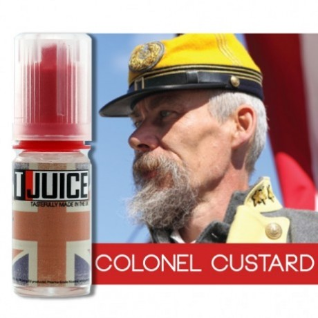 Tjuice Eliquid Colonel Custard 10ml 16mg