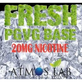 ATMOS FRESH BASE PGVG 20 MG